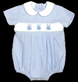 Petit Bebe 124BB Bunny Faces Bubble blue