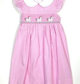 Petit Bebe 128D Unicorn Collar Dress