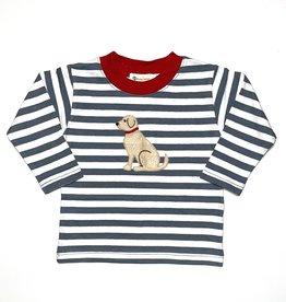 Luigi Boy Shirt Steel Stripe Dog