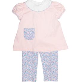 Lullaby Set Leah/Rosie Posies Legging Set
