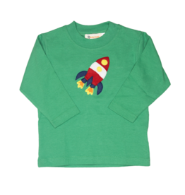 Luigi Boy Shirt Mint Green Rocket