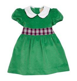 TBBC Cindy Lou Sash Dress Kiawah Kelly/Petersburg Plaid
