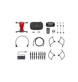 DJI DJI DRN MAVIC AIR FLYMORECOMBO - RED