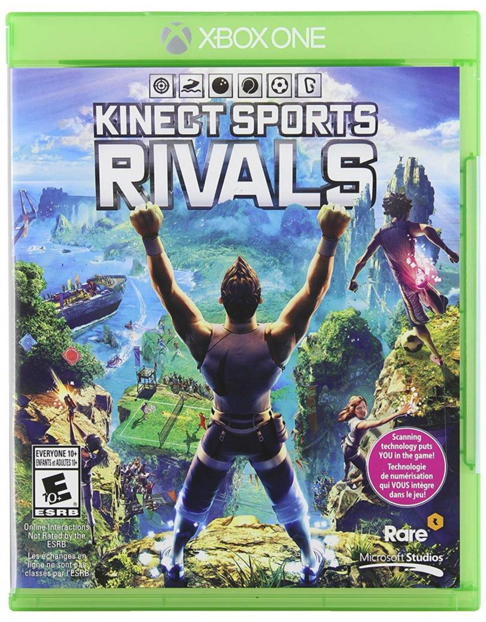 Solutions 2GO Kinect Sports Rivals