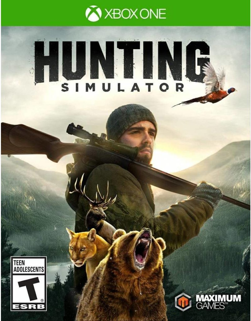 Solutions 2GO XBONE HUNTING SIMULATOR
