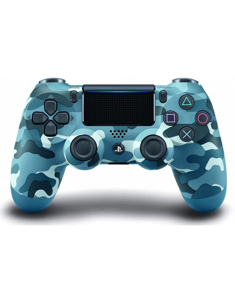 Solutions 2GO PS4 WIRELESS CONTROLLER - BLUE CAMO 711719519171
