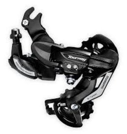 Shimano Shiman, Turney RD-TY500, Rear derailleur, 6/7sp., SGS, Black, Direct attachment