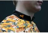 Hincapie Sportswear NYC Velo Orange Adventure Camo LS Jersey