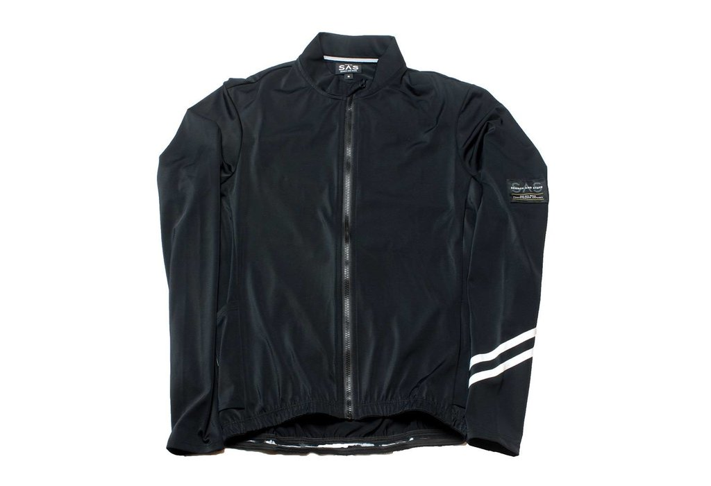 Search & State S2 Long Sleeve Synth Jersey Black