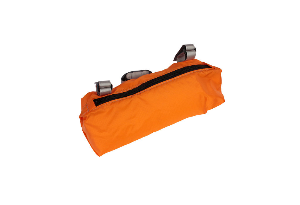 The Fridge Goods The Fridge Burrito Handlebar Bag Orange