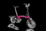 Brompton Brompton H6R Hot Pink/Black
