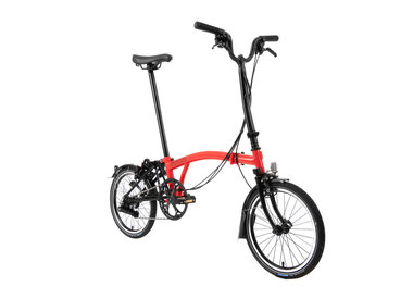 Brompton Brompton H6L Black Edition Gloss Red