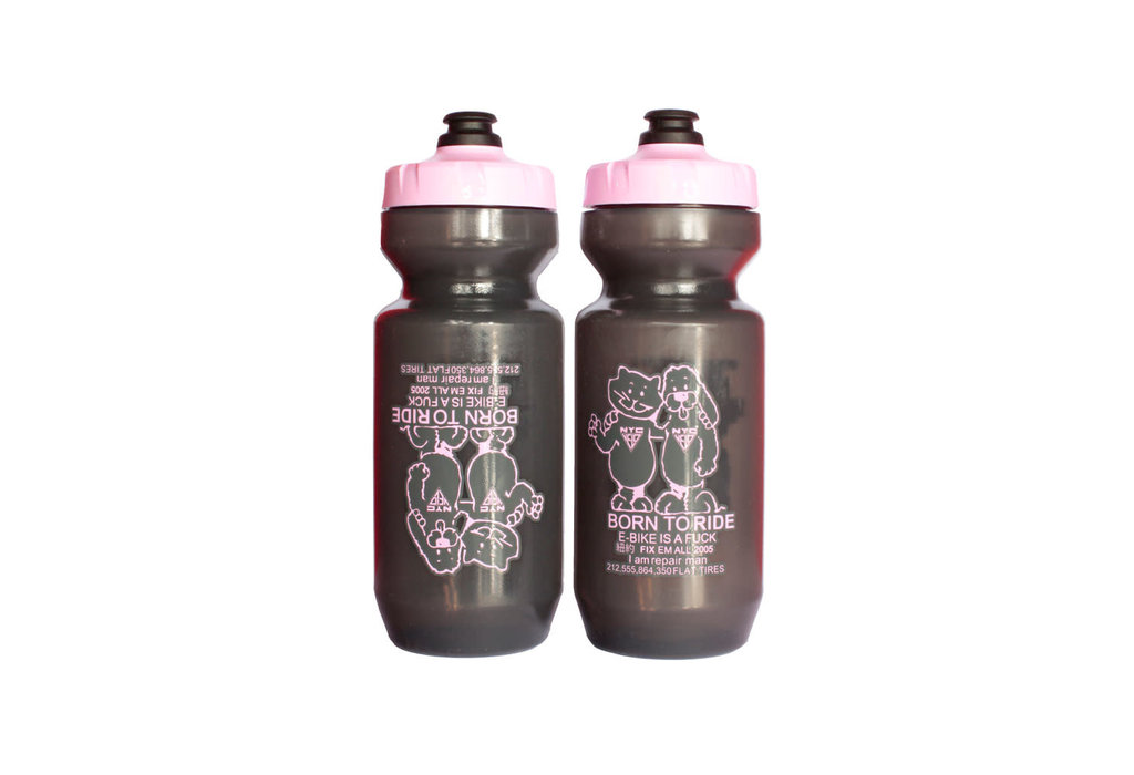 Specialized WB NYC Velo BORN TO RIDE Purist Water Bottle