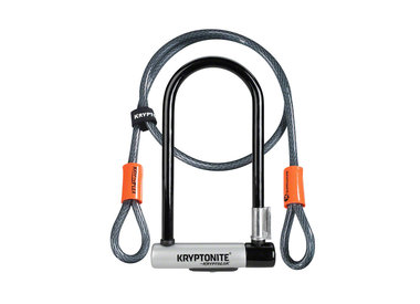 Kryptonite KryptoLok Series 2 STD U-Lock with 4' Flex Cable