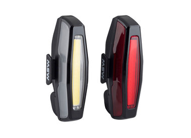 MSW MSW Pangolin Front and Rear USB Headlight and Taillight Set