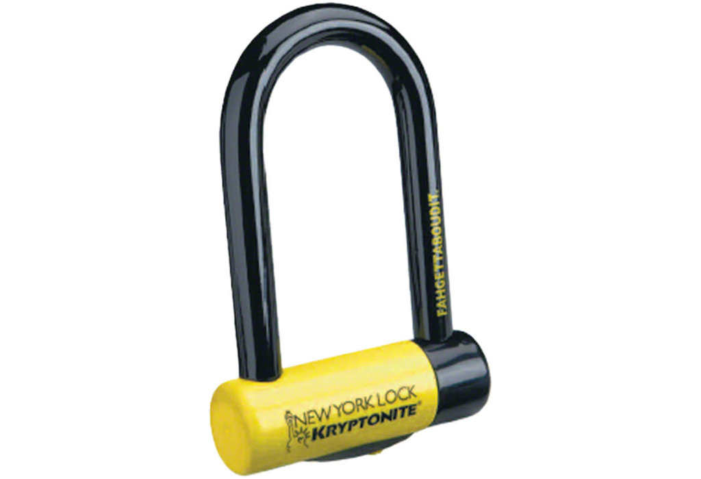 "Kryptonite Kryptonite New York Fahgettaboudit Mini U-Lock: 3.25 x 6"""