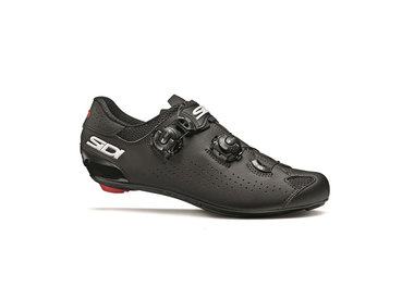 SIDI SIDI Genius 10 Road Cycling Shoes, Black, Size 45.5