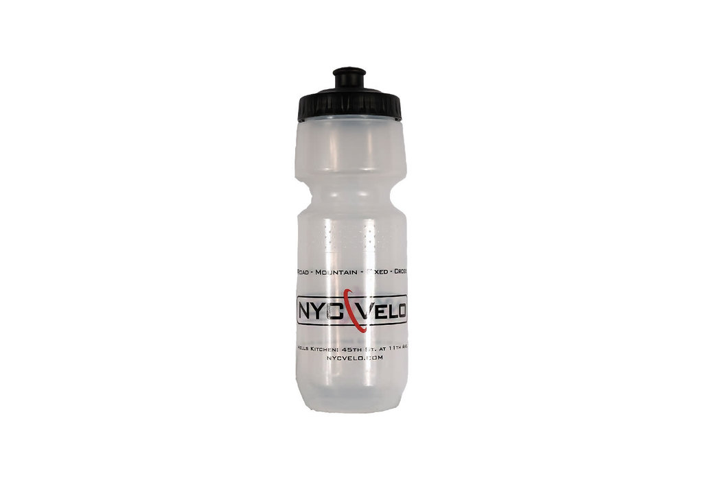 Specialized WB NYC Velo Water Bottle LG 24oz Clear