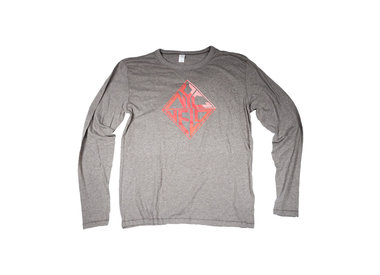 Bands on a Budget NYC Velo Red Diamond LS Tee