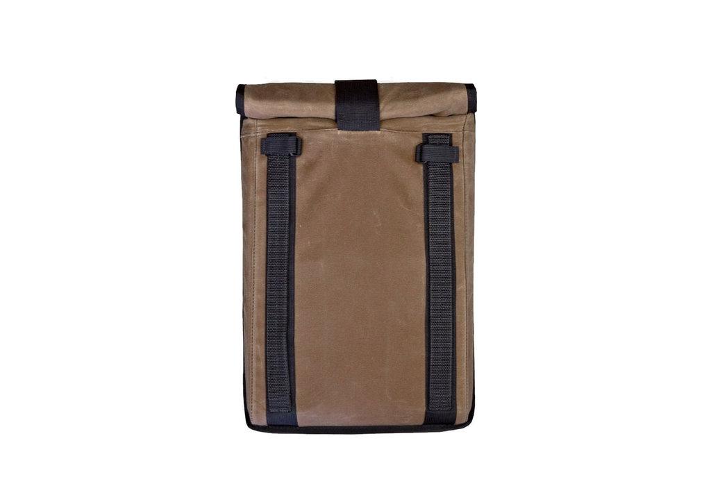 Mission Workshop Mission Workshop Arkiv Laptop Case. Waxed Brown