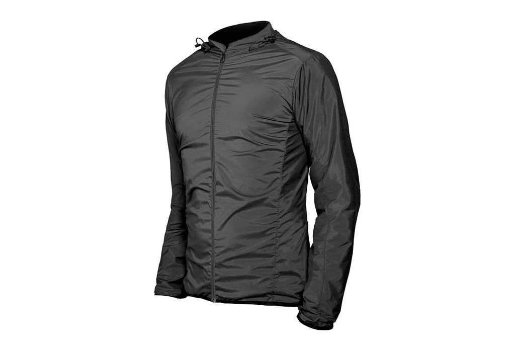 Mission Workshop Mission Workshop Interval Hooded Windshell Jacket, Black