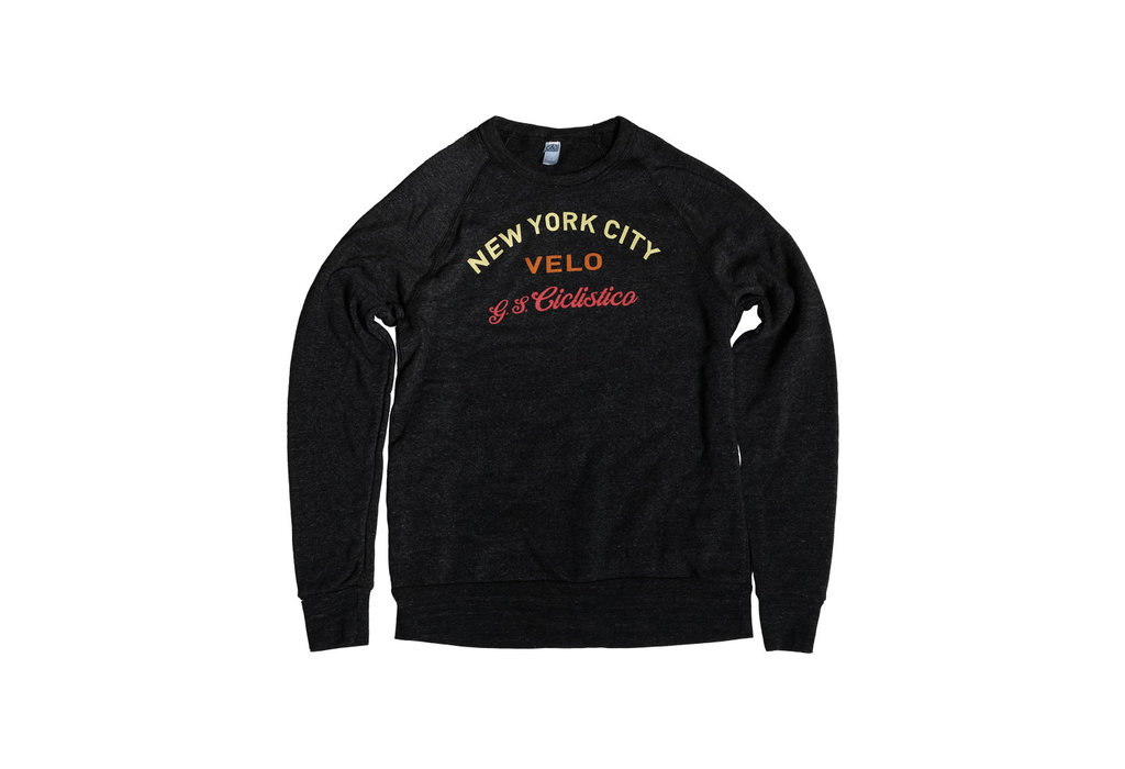 NYC Velo Ciclistico Dark Heather Sweatshirt