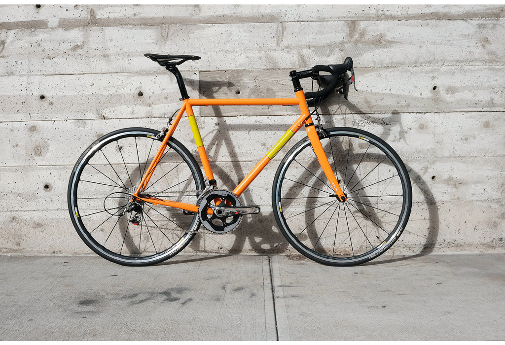 Pegoretti Pegoretti Duende 55cm FAEMA Orange Complete Bike