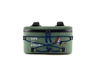 Cafe Du Cycliste Cafe du Cycliste Sacoche de Cintre HandleBar Bag Olive