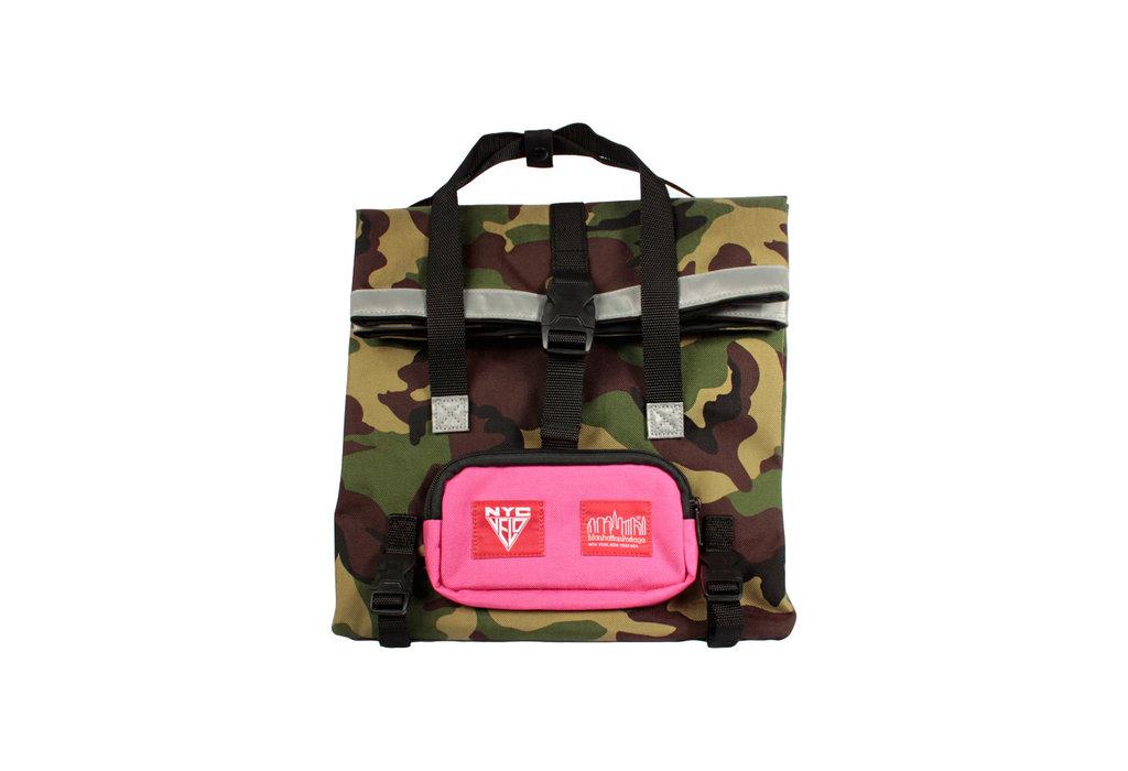 Manhattan Portage Manhattan Portage/NYC Velo Deli Bag Camo/Rose Cordura