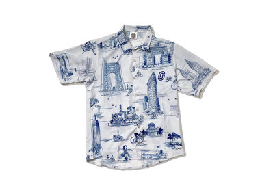Ostroy Ostroy NYC Monuments Resort Shirt