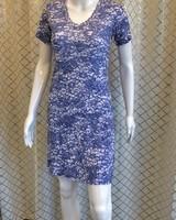 David Cline short sleeve V-neck dress