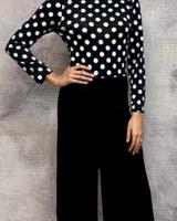 Nilsa Ramirez l/s tie back jumpsuit