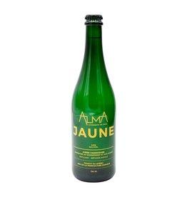ALMA Jaune - Cidre Mousseux de la cidrerie Alma