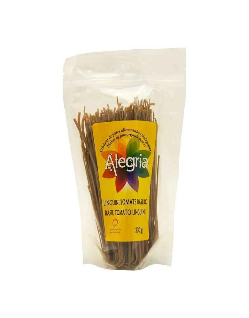 Alegria Linguini Tomabe Basilic Biologique 230gr