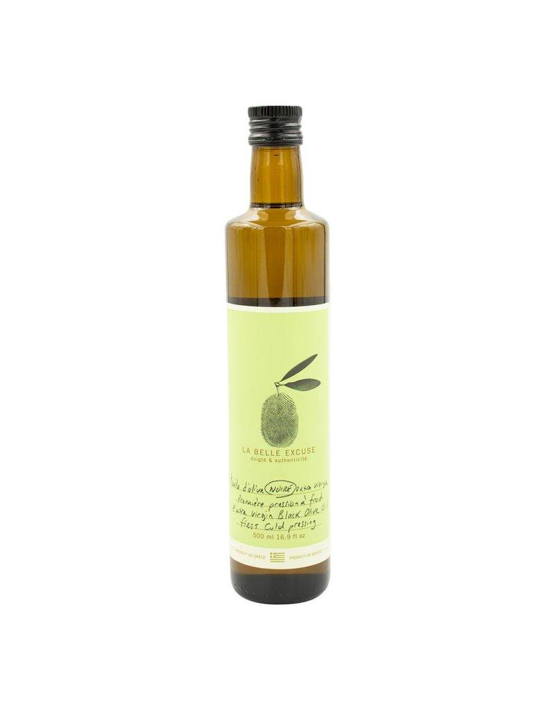 La Belle Excuse Huile d'olive noire extra vierge 500ml