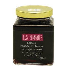 Les Zempotés Gelée de Framboises Noires et Pamplemousse