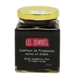 Les Zempotés Confiture Framboises noires et érable