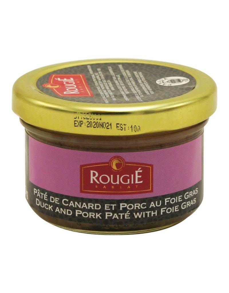 Rougié Terrine de canard au Foie Gras
