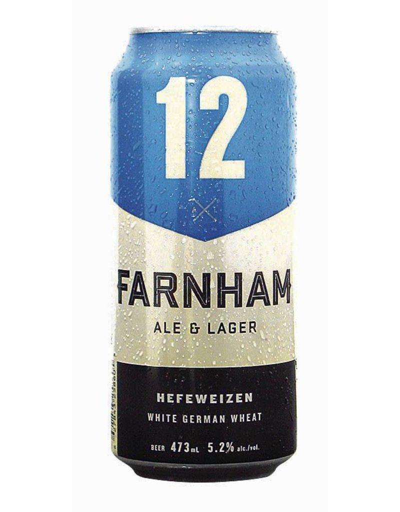 Farnham 4 x Bière Blanche - 12 de chez Farnham