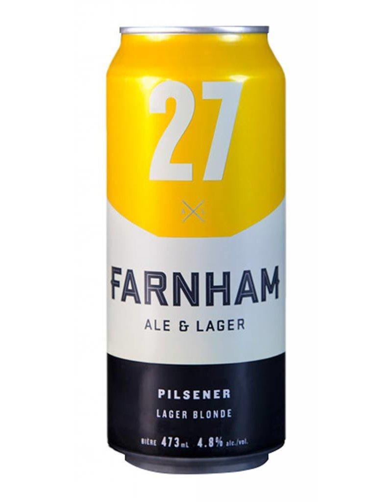 Farnham 4 x Bière Blonde - 27 de chez Farnham