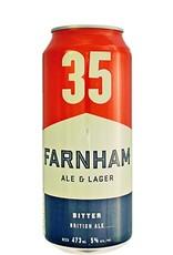 Farnham 4 x Bière Rousse - 35 de chez Farnahm