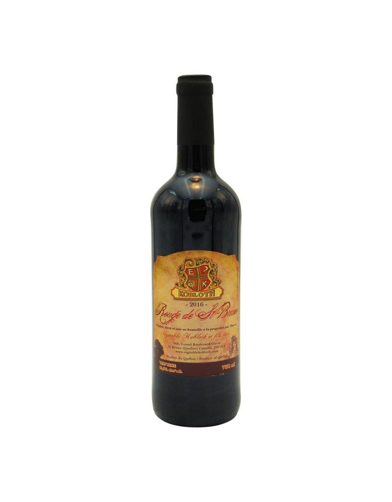 Kobloth Rouge de St-Bruno - Vin rouge du Vignoble Kobloth