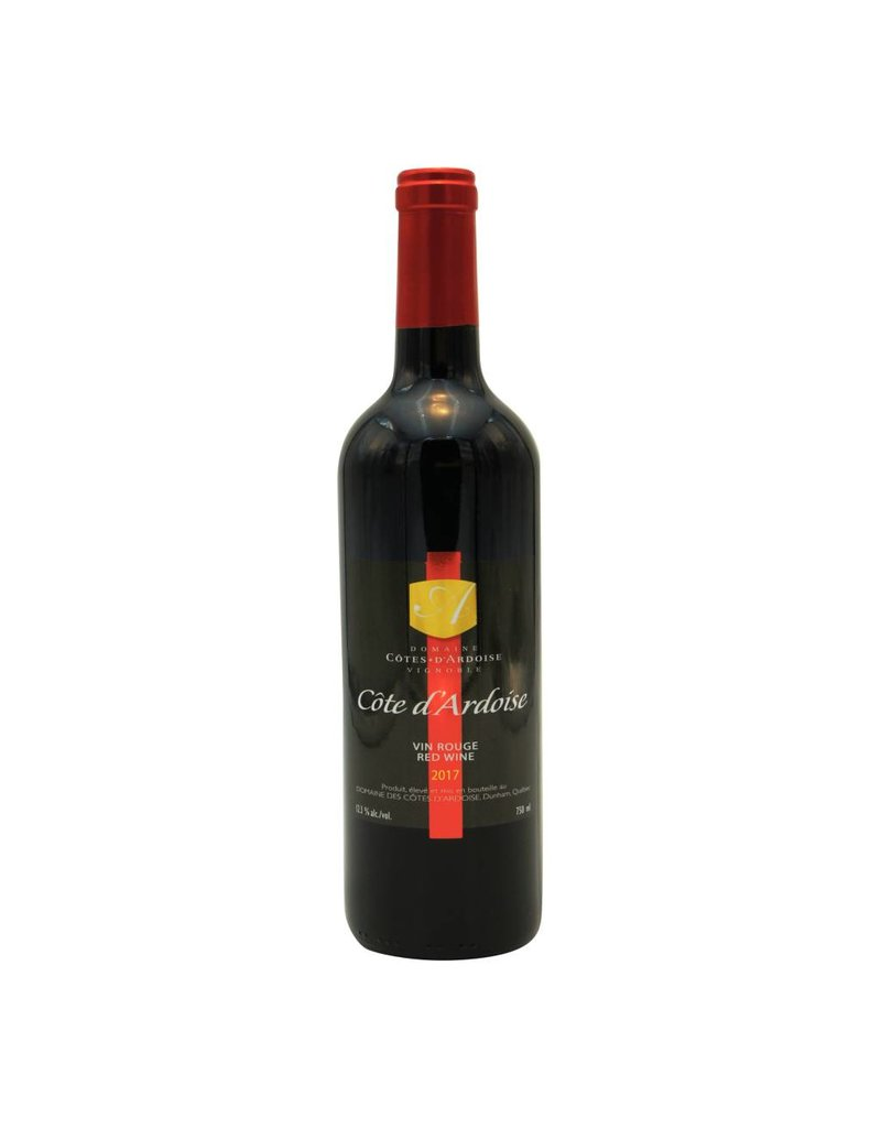Domaine Côtes d'Ardoise Côtes d'Ardoise 2017 - Vin Rouge du Domaine des Côtes d'Ardoise