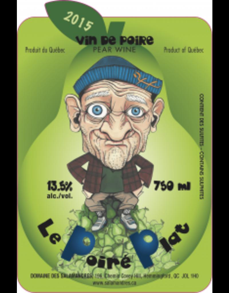Domaine les Salamandres Vin de Poire - Le Poiré Plat du Domaine les Salamandres
