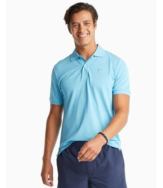 Southern Tide M SS JackHthr Prfrm Pique Polo