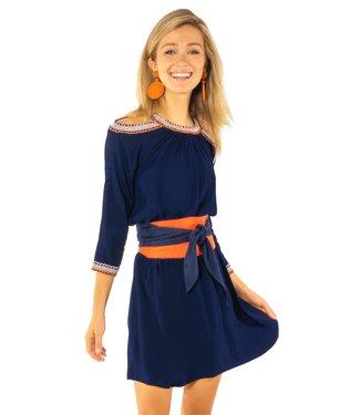 Gretchen Scott APHRODITE COLD SHOULDER DRESS