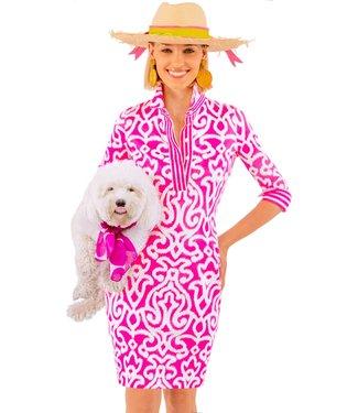 Gretchen Scott EVERYWHERE DRESS ARABESQUE PRNT