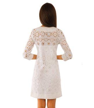 Gretchen Scott ETHEREAL EYELET DRESS