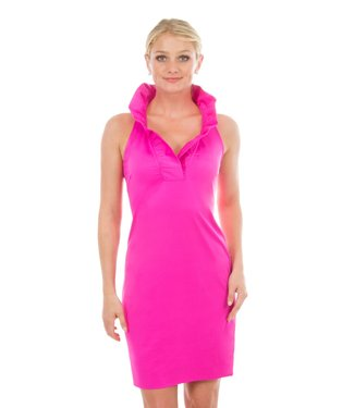 Gretchen Scott RN SLEEVELESS DRESS - Pink