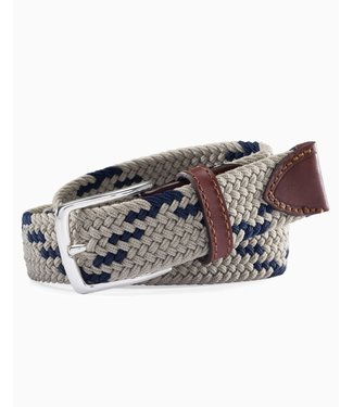 Southern Tide M Braided Web Belt